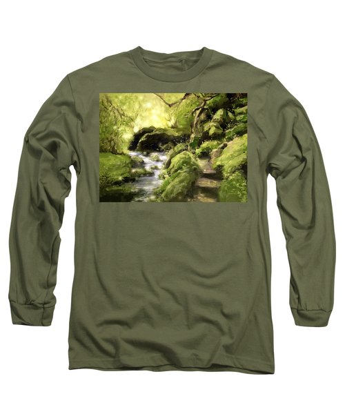 Woodland Steps Long Sleeve T-Shirt