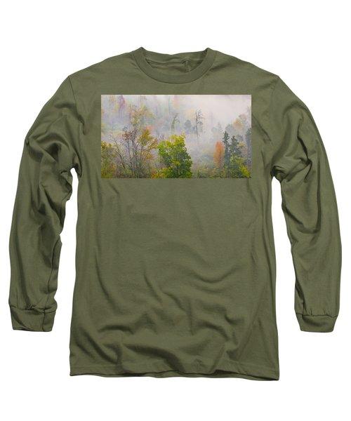 Woods From Afar Long Sleeve T-Shirt