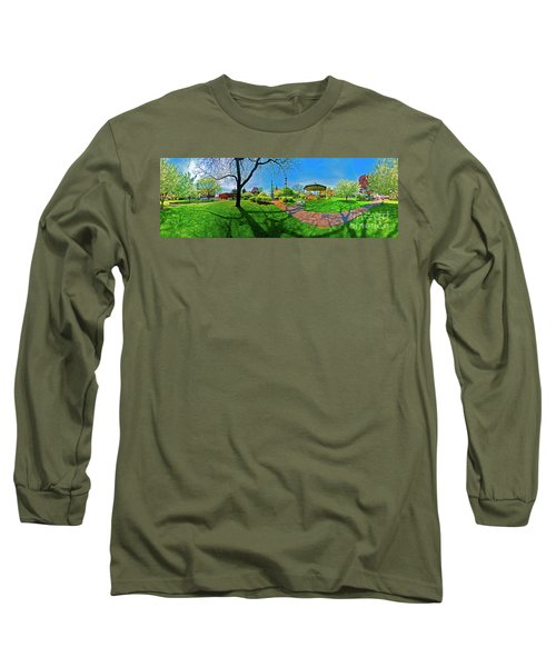 Woodstock Square Historic District 360 Spring Long Sleeve T-Shirt