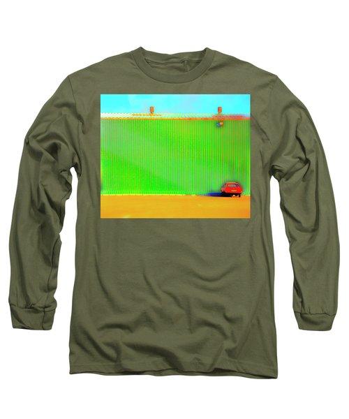 Working Late Long Sleeve T-Shirt by Jan W Faul