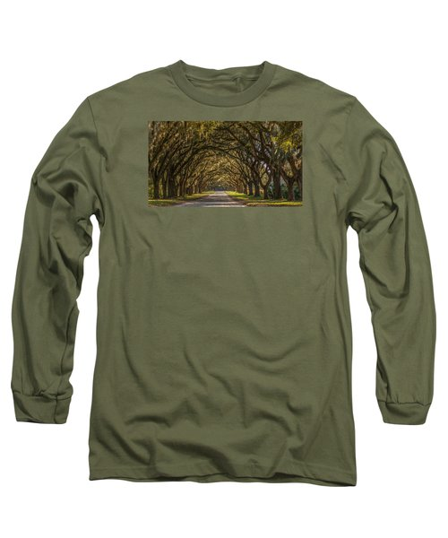Wormsloe Historic Site Long Sleeve T-Shirt
