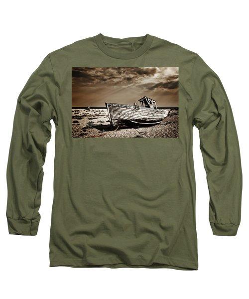 Wrecked Long Sleeve T-Shirt by Meirion Matthias