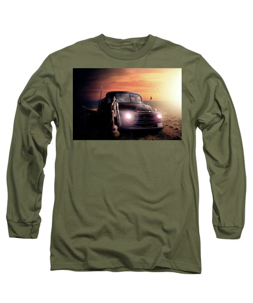 Wrecked  Long Sleeve T-Shirt by Nathan Wright