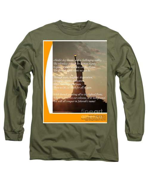 Writer, Artist, Phd. Long Sleeve T-Shirt by Dothlyn Morris Sterling