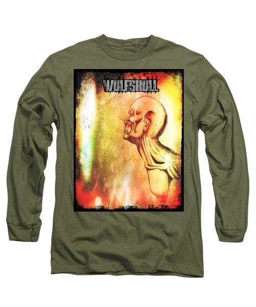 Wulfskull #2 Long Sleeve T-Shirt
