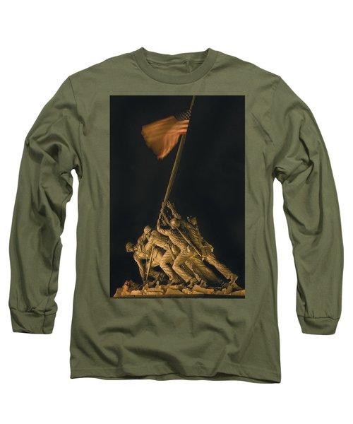 Iwo Jima Remembrance Long Sleeve T-Shirt