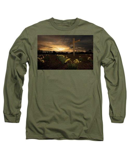 Wye Mountain Sunset Long Sleeve T-Shirt