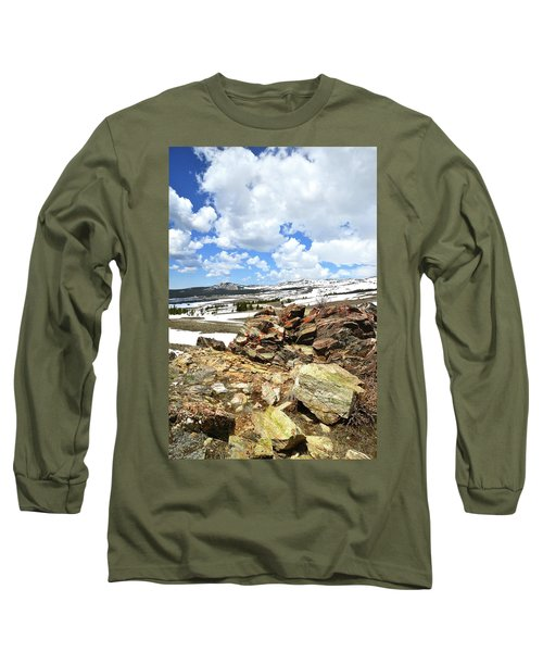 Wyoming's Big Horn Pass Long Sleeve T-Shirt