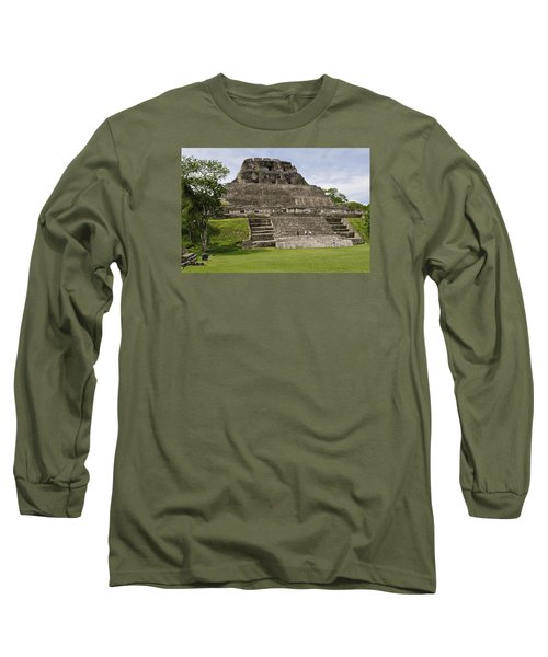 Xunantunich   Long Sleeve T-Shirt by Glenn Gordon