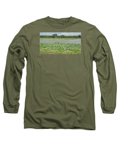 Long Sleeve T-Shirt featuring the photograph Yala National Park by Christian Zesewitz