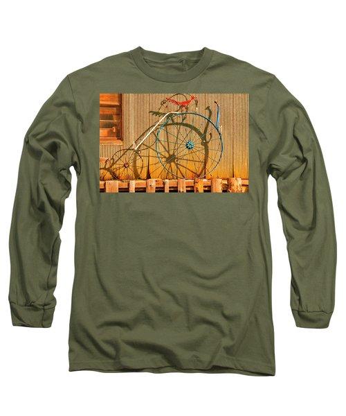 Yankey Doodle Ingenuity Long Sleeve T-Shirt by Daniel Hebard