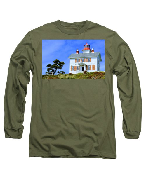 Yaquina Bay Lighthouse Long Sleeve T-Shirt