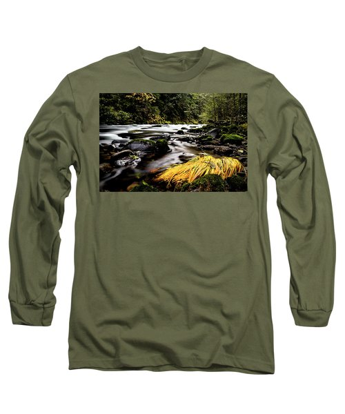 Yello Grass Long Sleeve T-Shirt
