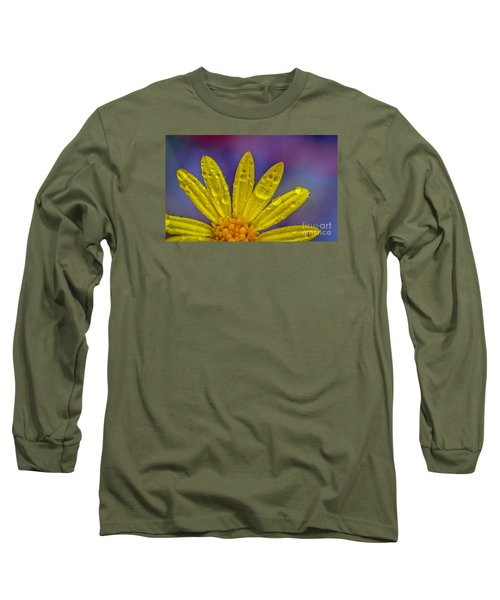 Yellow And Dew Long Sleeve T-Shirt