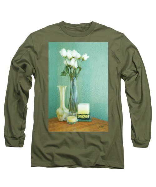 Yellow And Green Long Sleeve T-Shirt
