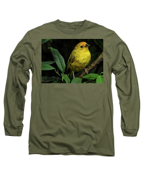 Yellow Bird Long Sleeve T-Shirt