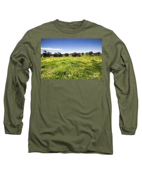 Yellow Blanket Long Sleeve T-Shirt by Douglas Barnard