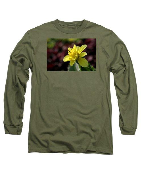 Yellow Bloom Long Sleeve T-Shirt by Robert Och