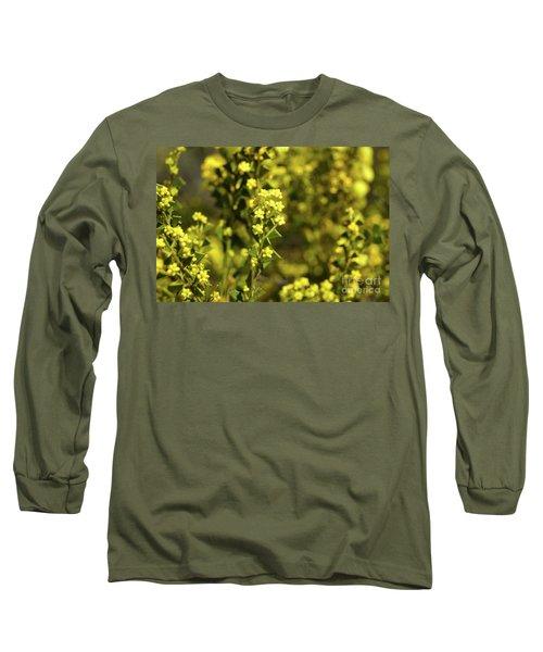 Yellow Blooms Long Sleeve T-Shirt