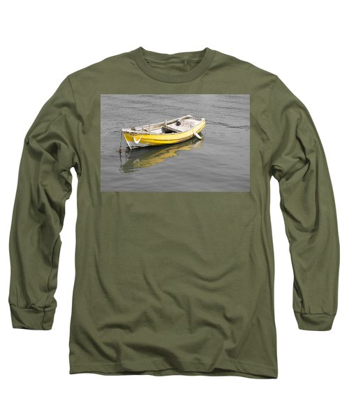 Yellow Boat Long Sleeve T-Shirt