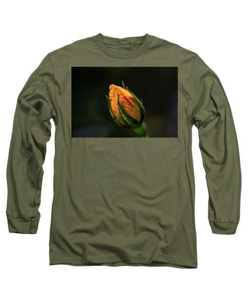 Yellow Bud Long Sleeve T-Shirt