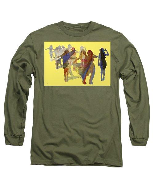 Yellow Dance Long Sleeve T-Shirt