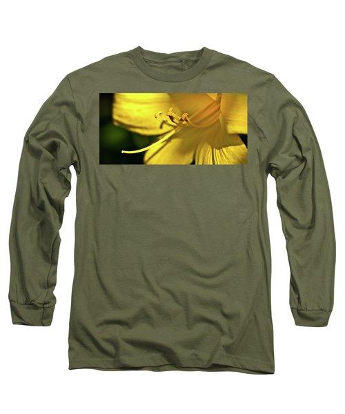 Yellow Daylily Long Sleeve T-Shirt