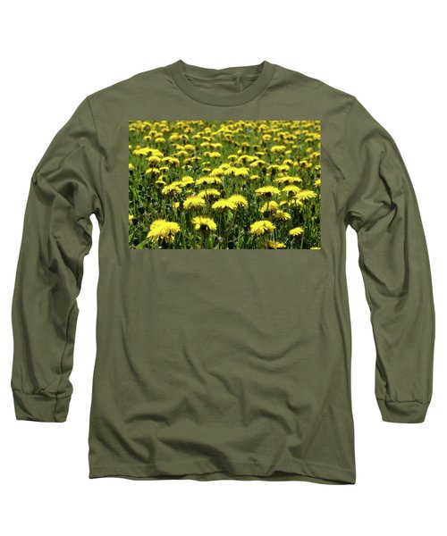 Yellow Field Two  Long Sleeve T-Shirt