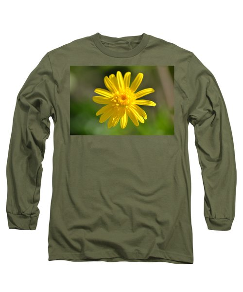Yellow Fireworks Long Sleeve T-Shirt