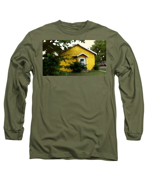 Yellow House In Shantytown  Long Sleeve T-Shirt