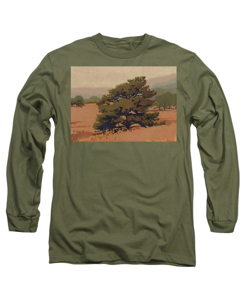 Yellow Pine Long Sleeve T-Shirt by Dan Miller