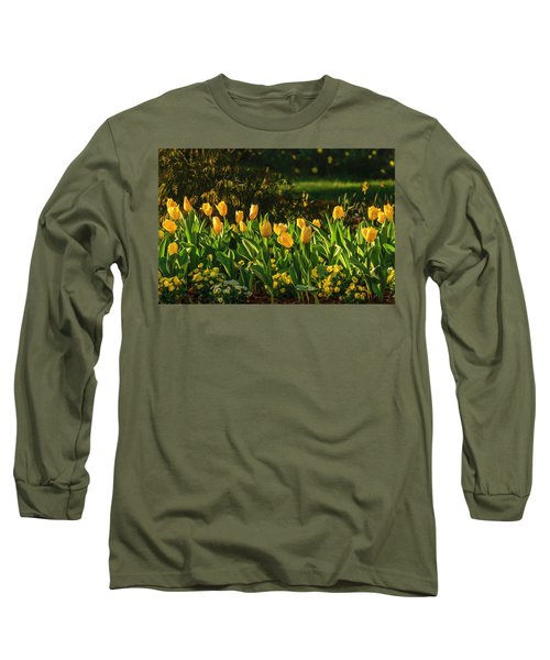 Yellow Spring Fever Long Sleeve T-Shirt