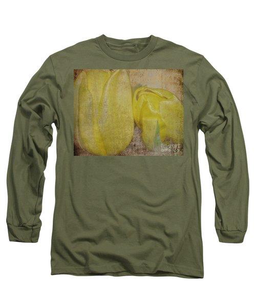 Yellow Strands Long Sleeve T-Shirt