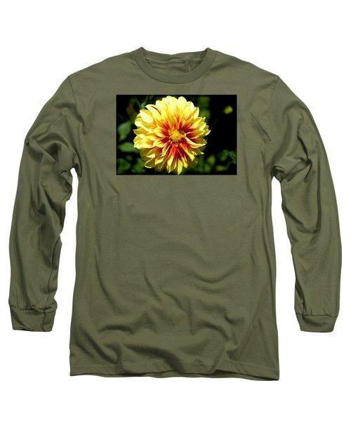 Yellow Sunshine Long Sleeve T-Shirt by Milena Ilieva