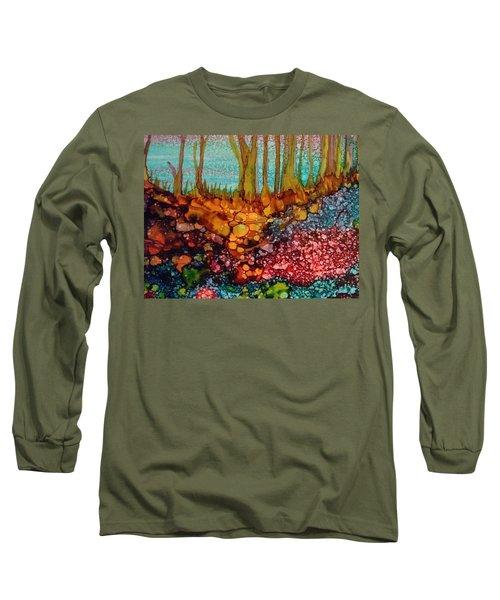 Yellow Trees Long Sleeve T-Shirt