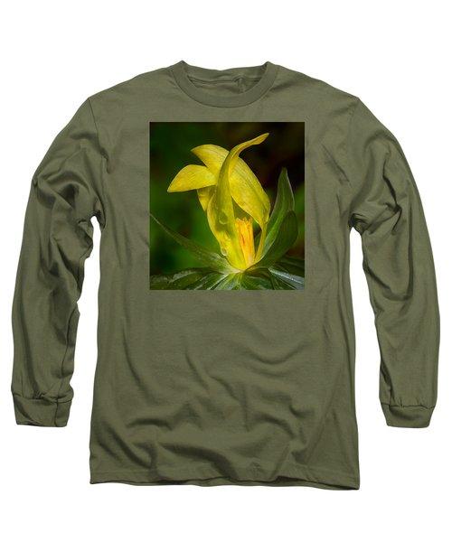 Yellow Trillium Long Sleeve T-Shirt