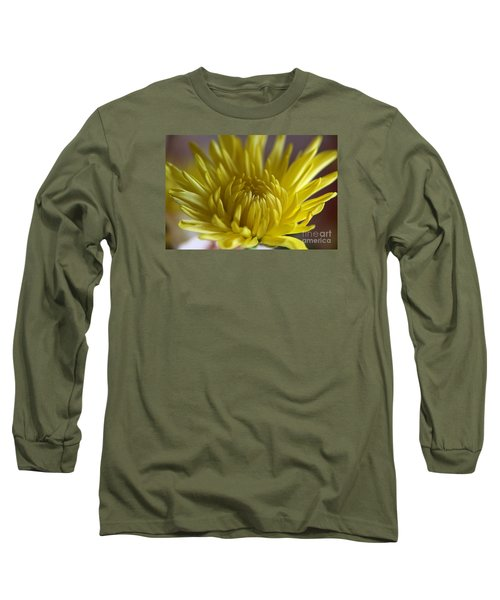 Yellow Yellow Long Sleeve T-Shirt by Yumi Johnson
