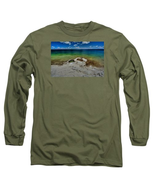 Yellowstone Lake Long Sleeve T-Shirt