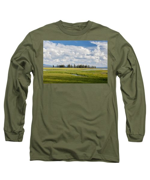Yellowstone Meadow Long Sleeve T-Shirt