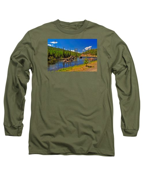 Yellowstone River Long Sleeve T-Shirt