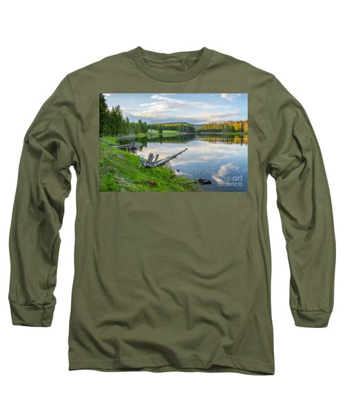 Yellowstone River Off Grand Loop Long Sleeve T-Shirt
