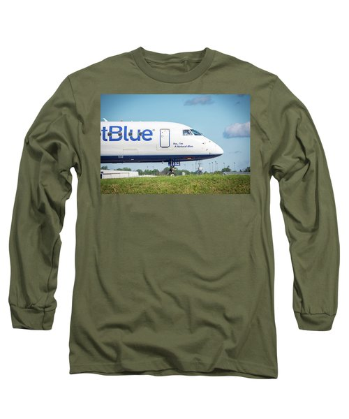 Yes, I'm A Natural Blue Long Sleeve T-Shirt