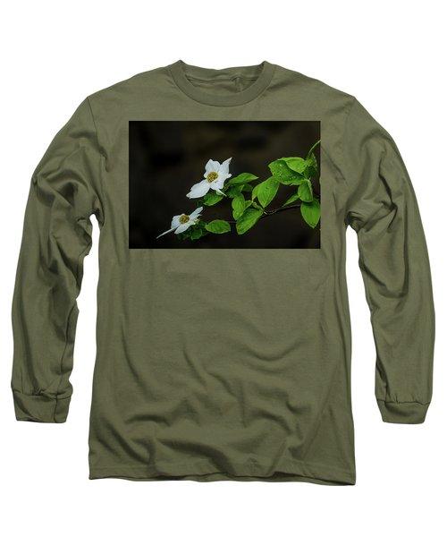 Yosemite Dogwoods Long Sleeve T-Shirt