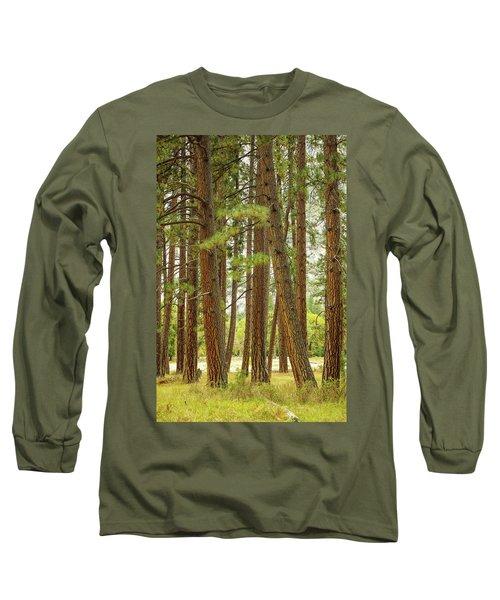 Yosemite Long Sleeve T-Shirt by Jim Mathis