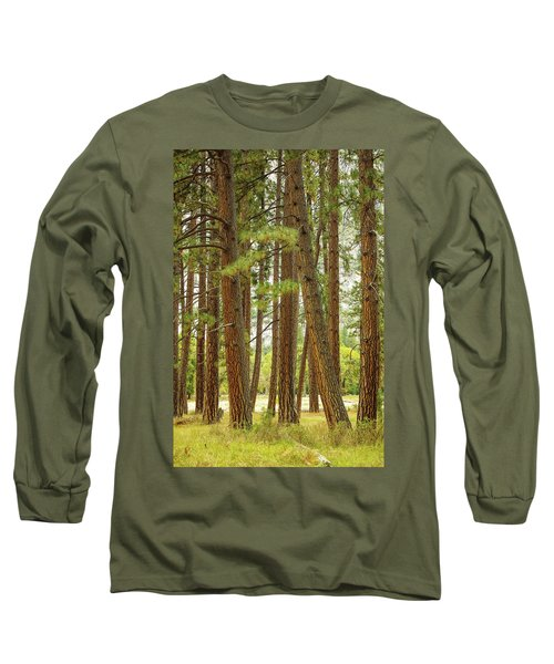 Long Sleeve T-Shirt featuring the photograph Yosemite by Jim Mathis