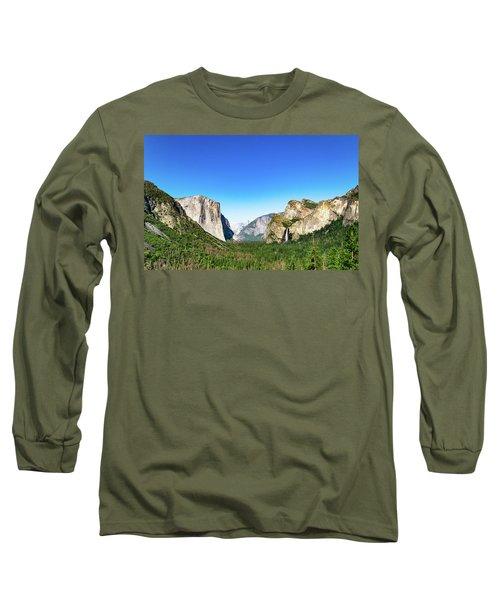 Yosemite Valley- Long Sleeve T-Shirt