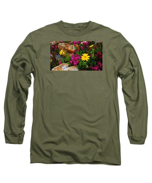 Yosemite Wildflowers Long Sleeve T-Shirt