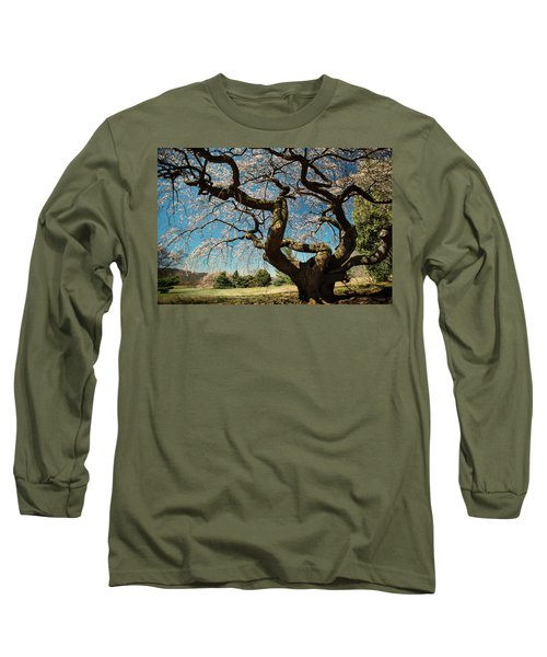 Yoshino Cherry Long Sleeve T-Shirt