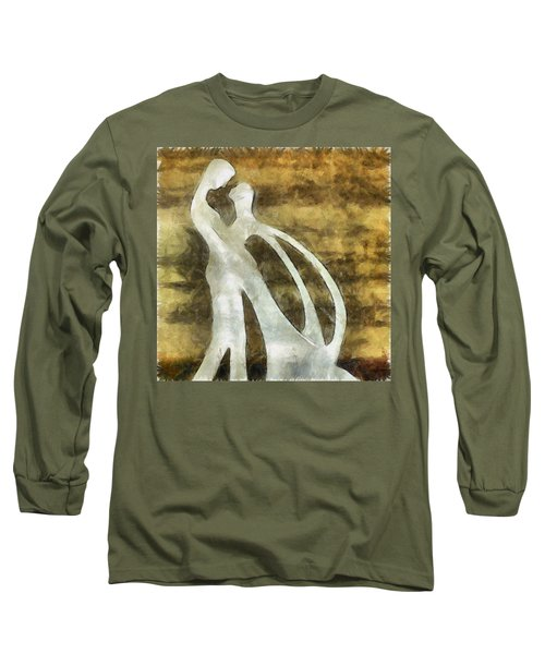 You And I 1 Long Sleeve T-Shirt by Angelina Vick