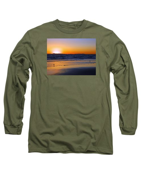 Long Sleeve T-Shirt featuring the photograph You And Me by Everette McMahan jr